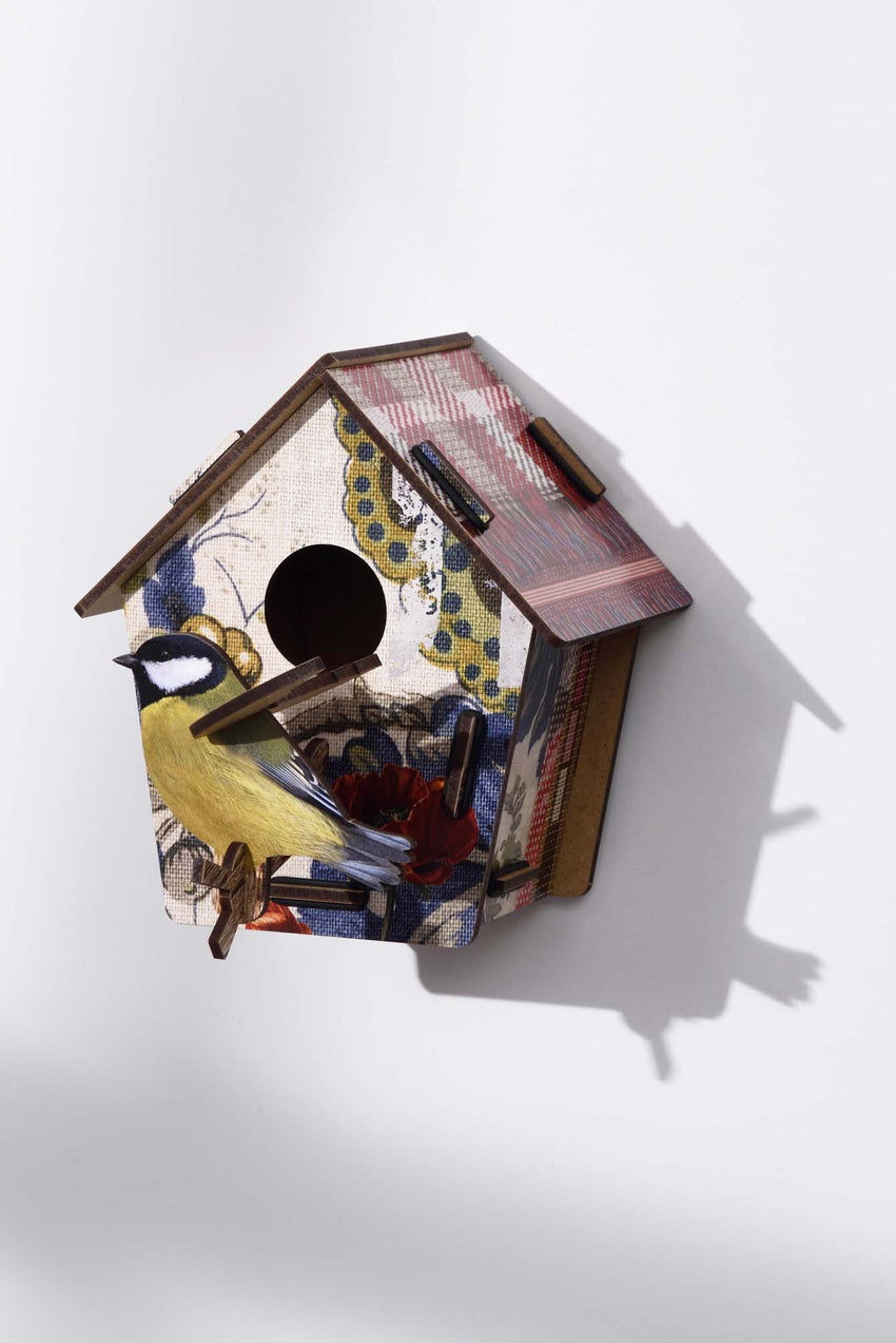 3D BIRDHOUSE TO PUT A SMILE ON YOUR FACE - SPOTTED
