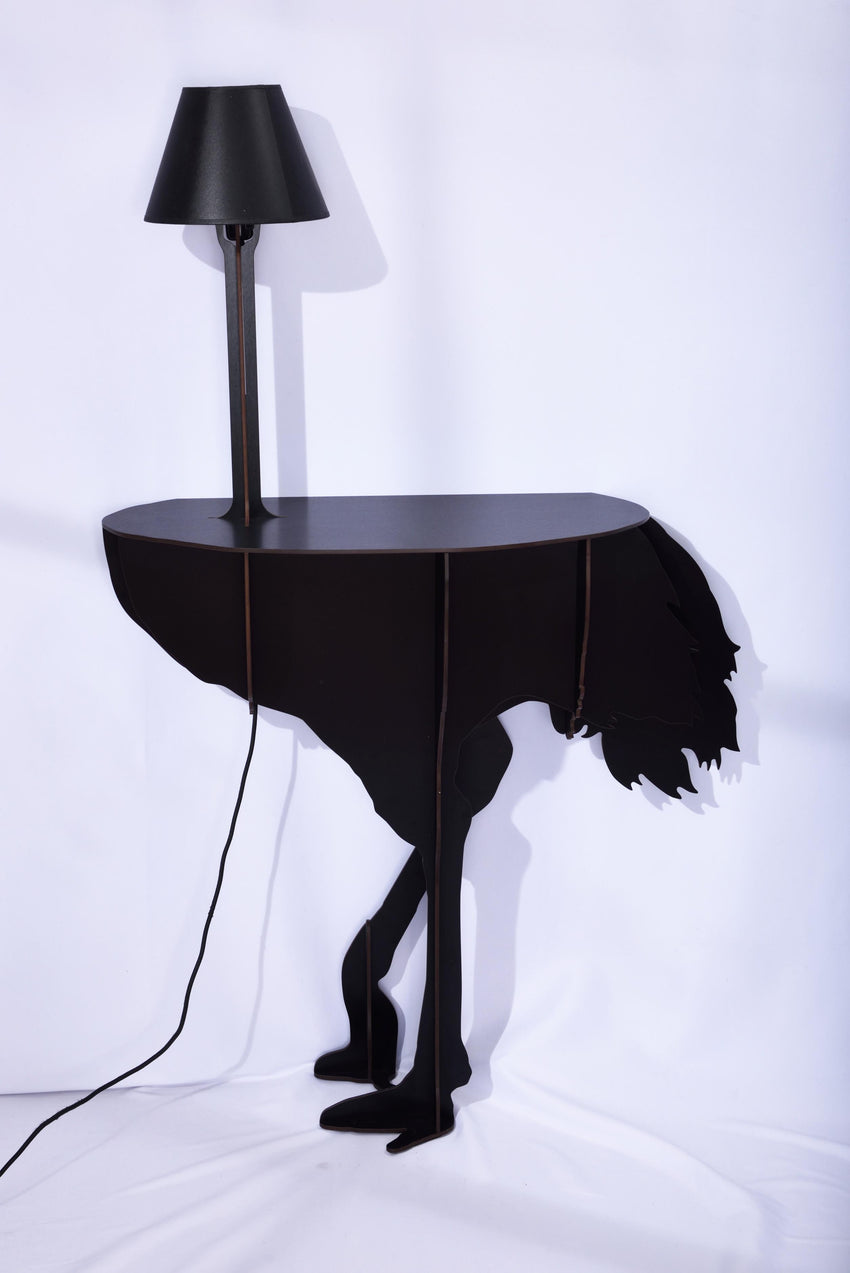 ... ECCENTRIC FURNITURE TO SHOW OFF YOUR WILD SIDE   OSTRICH LAMP ...