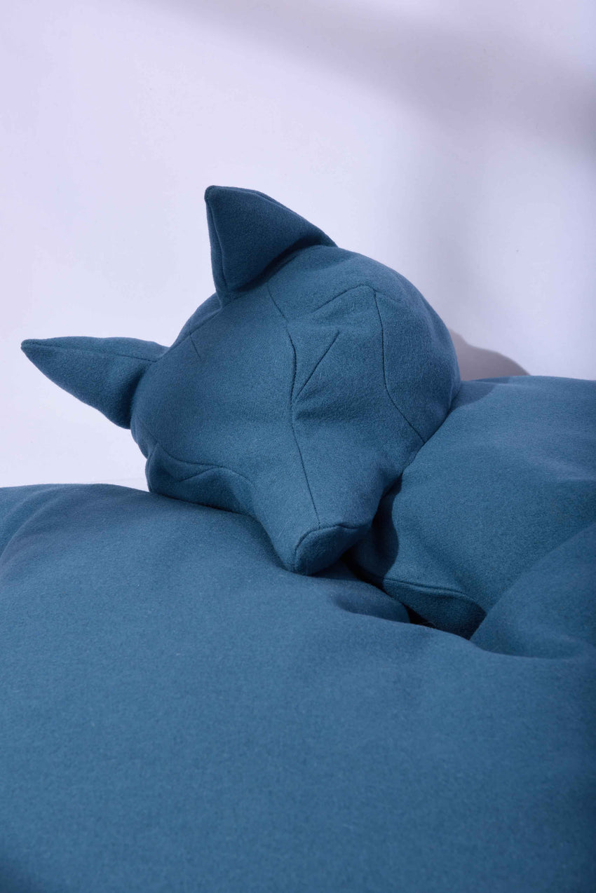 DECADENT, GIANT FOX PILLOW