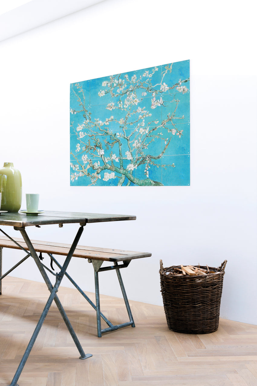 LUXURY PRINT FOR YOUR NAKED WALL - ALMOND BLOSSOM
