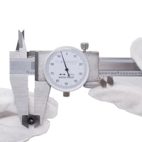 Clockwise Toold DDLR-0805 Shock Proof Dial Caliper 8""