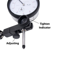 Clockwise Tools DIMR Dial Indicator and Magnetic Base