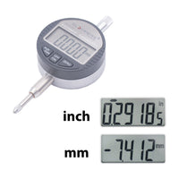 "Clockwise Tools DITR-0055 Digital Indicator 0-0.5""/12.7mm Resolution 0.00005"""