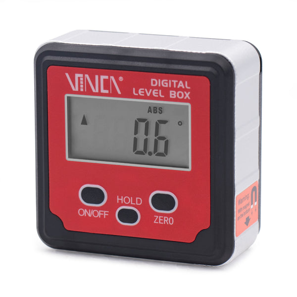 VINCA DLBA-01 Digital Level Box with ABS Hold Function Backlight and Magnetic Base