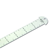VINCA SSRH Stainless Steel Hook Ruler