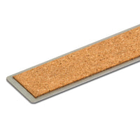 VINCA SSRN Stainless Steel Ruler with Non-Slip Cork Base