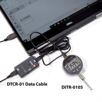 Clockwise Tools DTCR-01 RS232 Data Cable for Digital Indicator