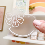 Sunny Smile Clear Sticker | Free Shipping