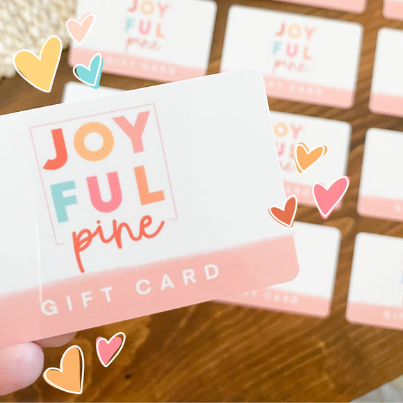 Gift Cards (With free stickers!)