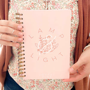 Lamp & Light Anxiety Journal