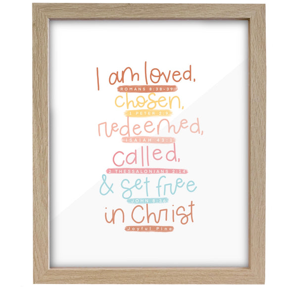 I Am... in Christ Print