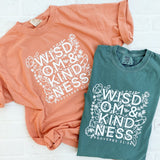 Wisdom & Kindness Proverbs 31:26 Tee (Choose your own color!)