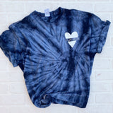 """I've Got Your 6"" Tie Dye LEO Support Tee"