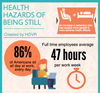 The Health Hazards of Being Still (Infographic)