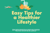Easy Tips for a Healthier Lifestyle (Infographic)