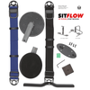 SitFlow with Desk Mount (Black & Blue Straps Included)