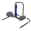 SitFlow with Floor Stand (Black & Blue Straps Included)
