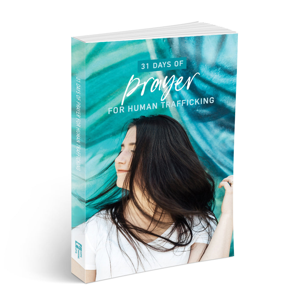 31 Days of Prayer for Human Trafficking Journal Book