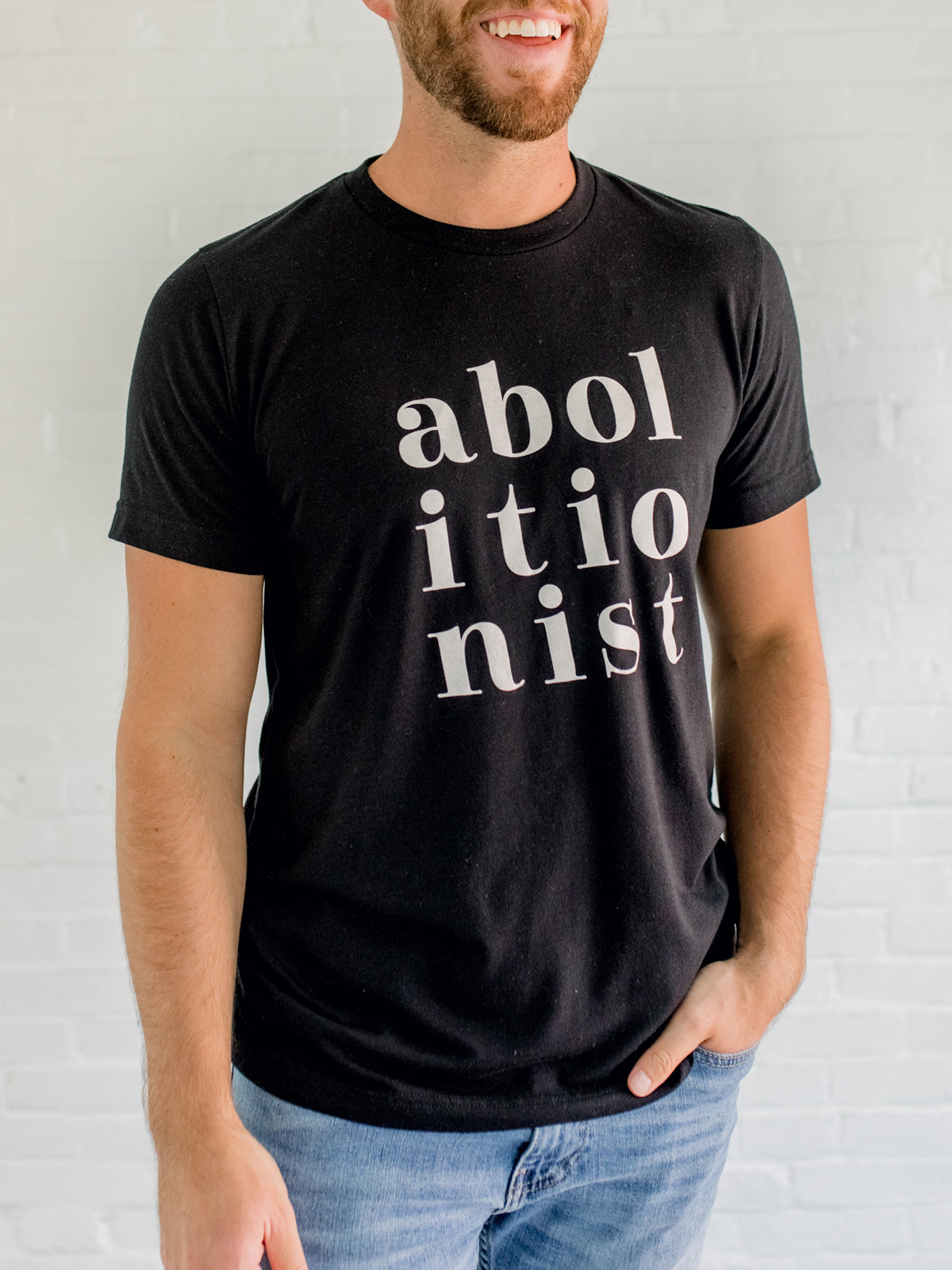 ABOLITIONIST - Black Short Sleeve T-Shirt