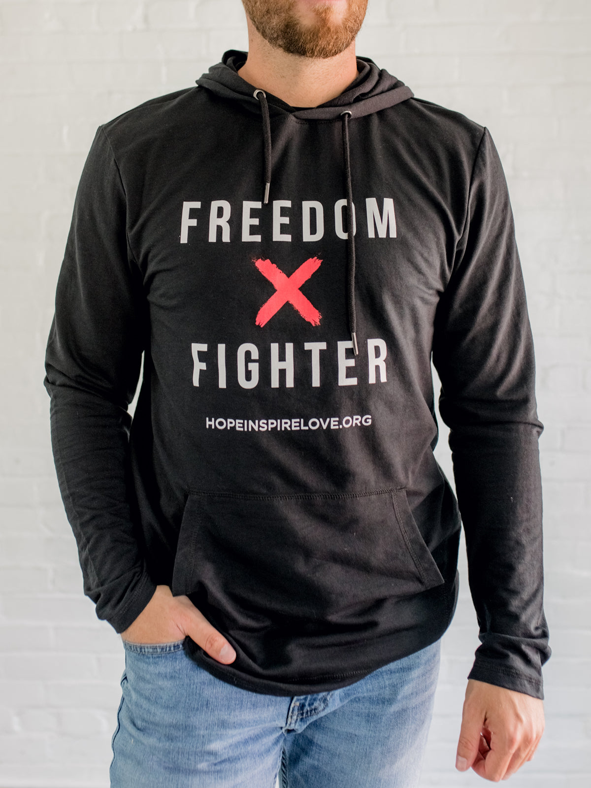 Freedom Fighter - Black Hoodie - Unisex