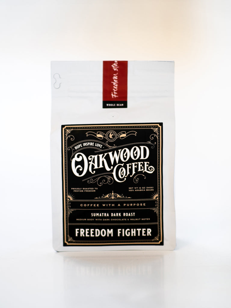 Coffee - FREEDOM FIGHTER - Sumatra Dark Roast