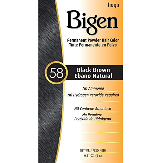 Bigen Oriental Black Brown Hair Color (.21 oz)
