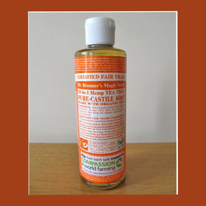 18- IN- 1 Pure Castile Soap- Dr. Brooner