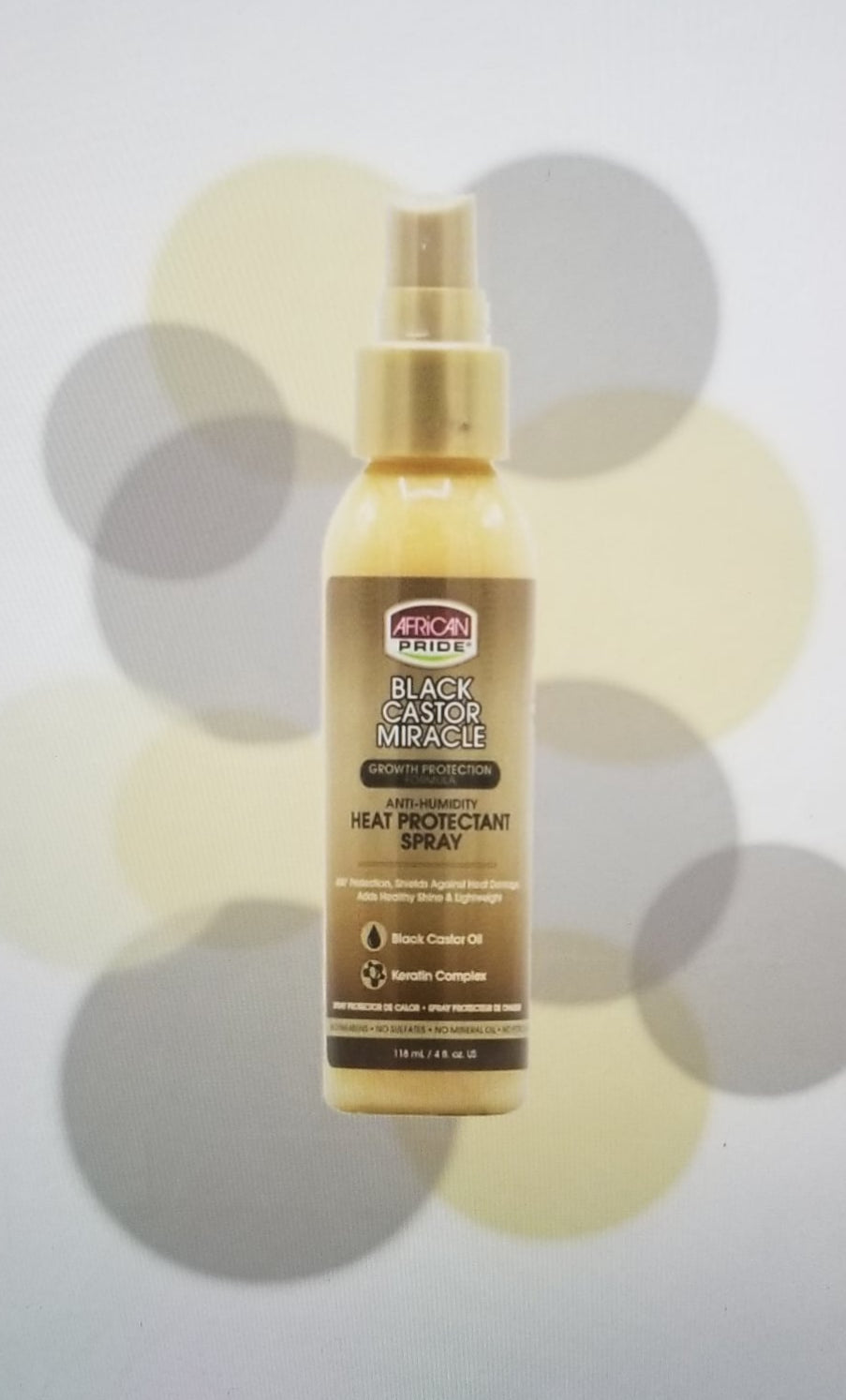 African Pride- Heat Protectant Spray