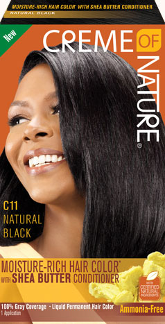 Cream Of Nature Natural Black Hair Color (1 application)