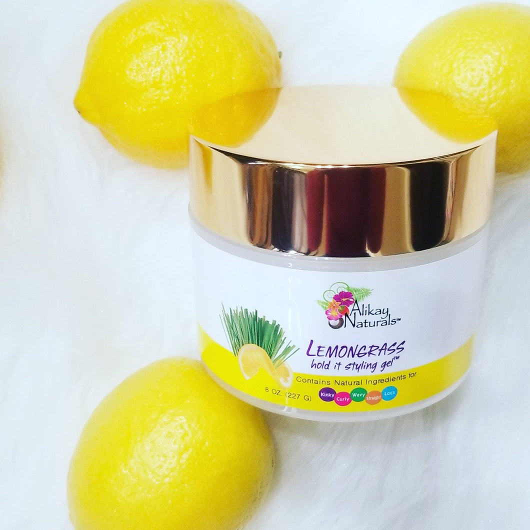 Aikay Natural Lemongrass Hold it Styling Gel