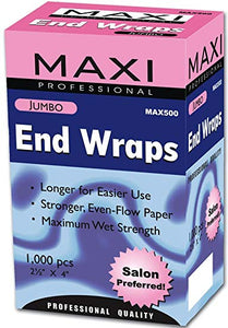 Maxi Jumbo End Wraps (1000 pcs)