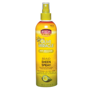 Olive Oil Miracle Braid Sheen Spray (12 oz)