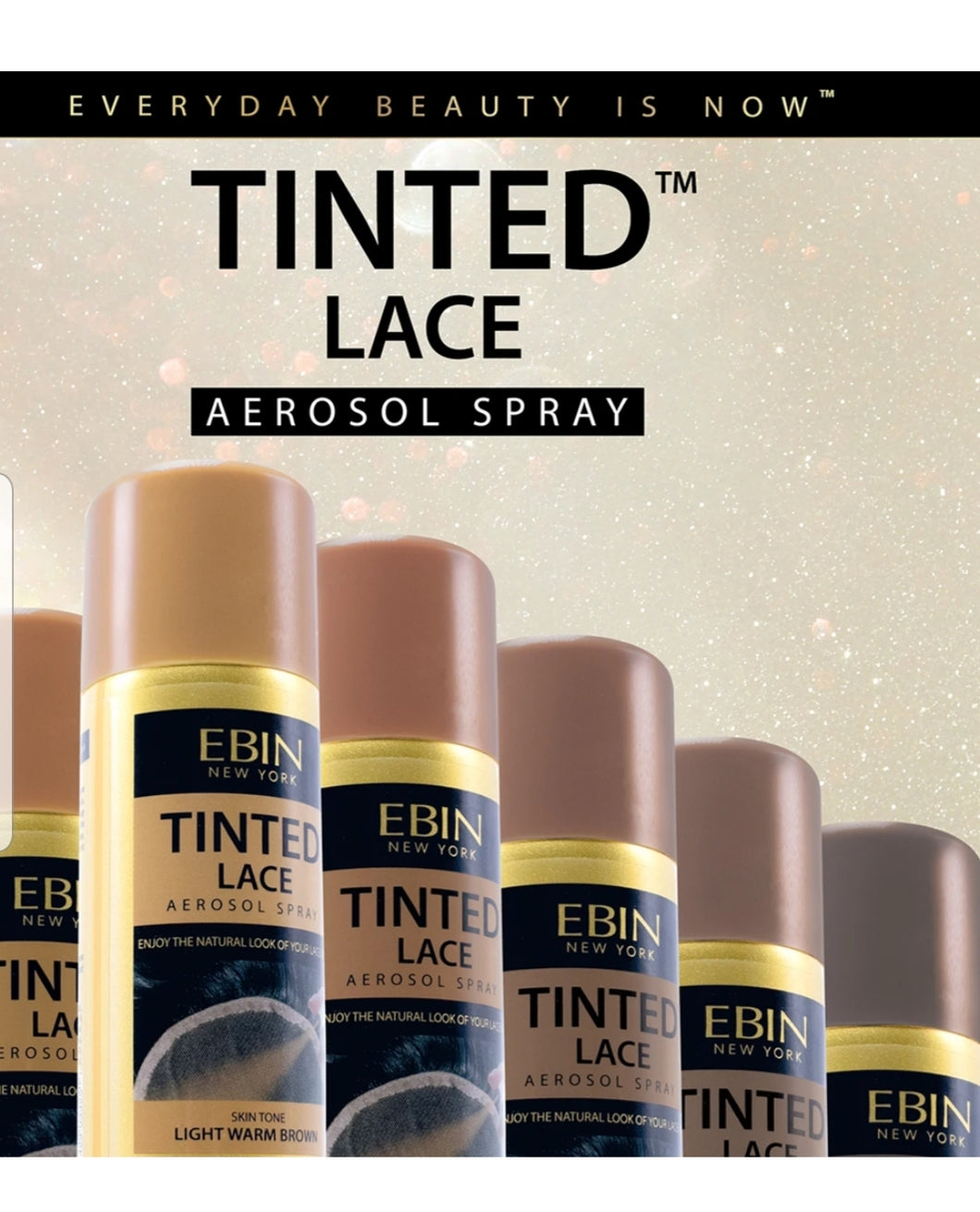 Tinted Lace Aerosol Spray - Ebin New York