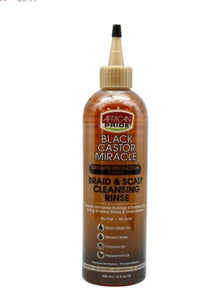African Pride- Black castor Miricale Braid and Scalp Cleansing Rinse