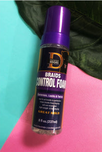 Diamond Edges Black Panther- Braid Foam and Edge Control