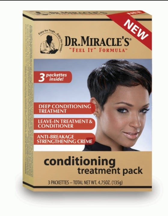 Dr. Miracle- Dee Conditioning Treatment Pack