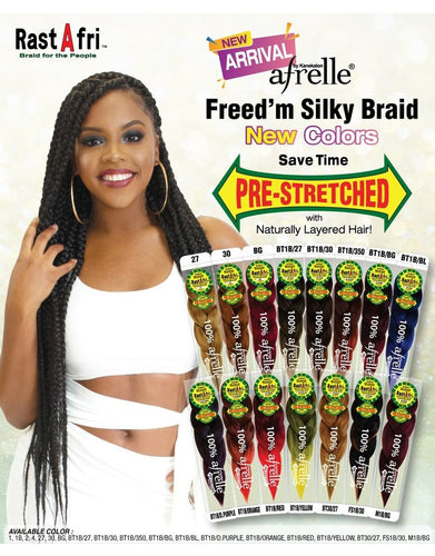 RastAfri Braid Hair regular & Pre Stretched