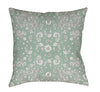 green-floral-pillow