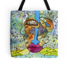 Two Faced tote bag , beach bag