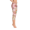 Abstract Capri leggings, Workout Pants 'Kali Floral'