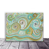 Art Print on Canvas 'Honeydew Ocean'