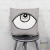 'EYE SEE YOU 04' REVERSIBLE Suede Pillow (2 PILLOWS IN ONE!)