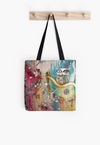 'Surreal Owl I' Tote Bag - Beach Bag