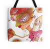 'Planting Seeds' tote bag beach bag