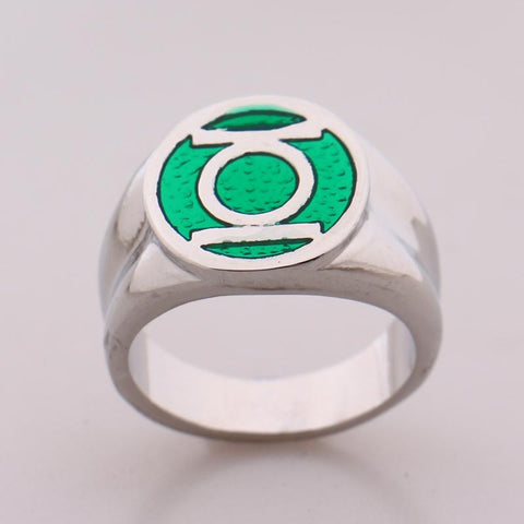 Green Lantern Superhero Ring