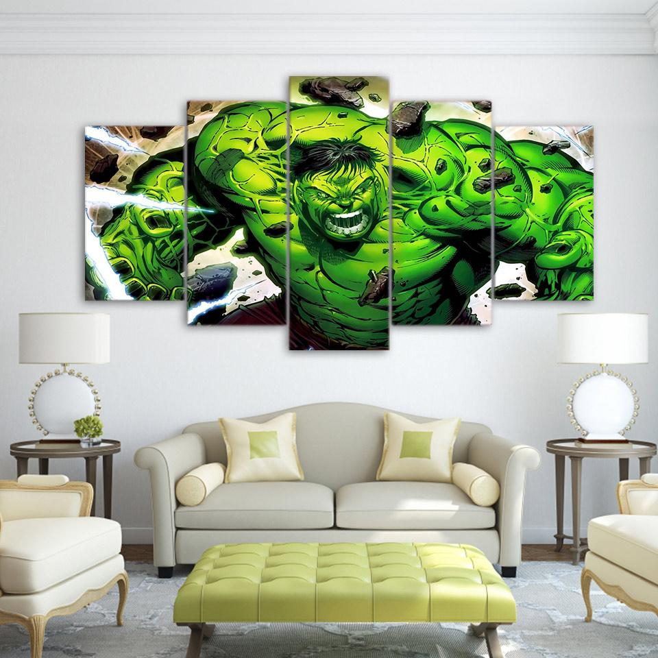 Comic Canvas Paintings Wall Art