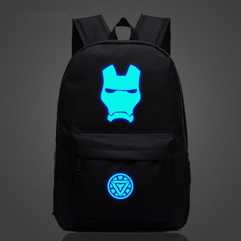 Iron Man Comic Backpack