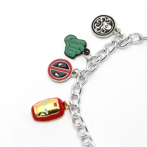 Marvel Comic Superhero Bracelet