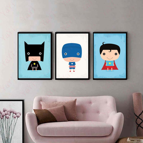 Children's Comic Home Decor