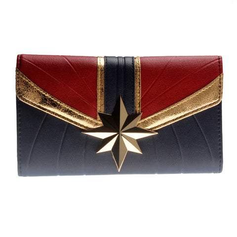 Captain Marvel Tri-Fold Wallet